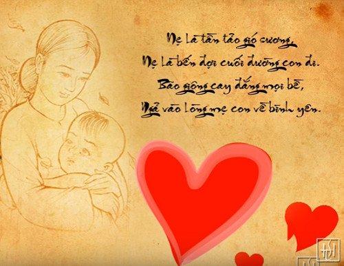 nhung bai tho ve me hay y nghia viet ve cong on sinh thanh - Những bài thơ về mẹ hay, ý nghĩa viết về công ơn sinh thành