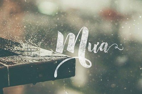 nhung bai tho ve mua hay duoc yeu thich nhat - Những bài thơ về mưa hay được yêu thích nhất